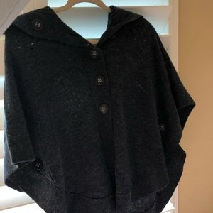Charlotte Russe Navy Blue Poncho